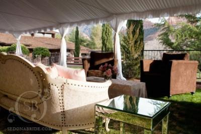 tri-rentals at l'auberge wedding