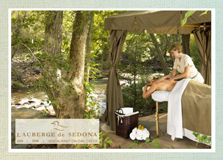 L'Auberge Spa ~ Sedona Wedding Spa
