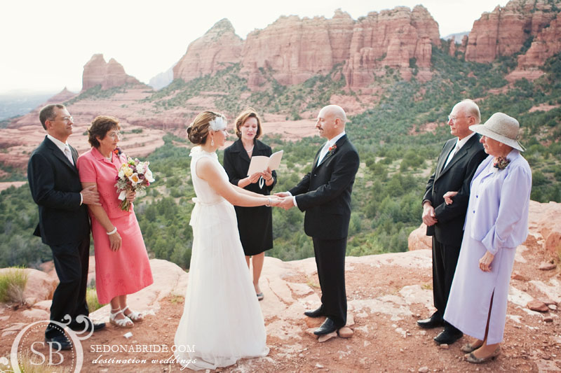 A Sedona wedding on Merry-Go-Round - image by Sedona Bride Photographers
