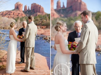 Red Rock Crossing wedding - image by Sedona Bride Photographers