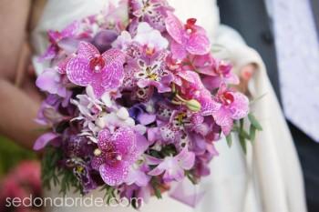 Purple Sedona Bridal Bouquet