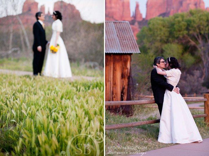Sedona Wedding At Red Rock Crossing
