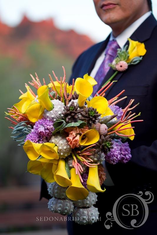 Couture wedding bouquet