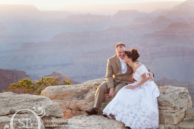 Grand Canyon Wedding, Sedona Luxury Weddings, Image by SedonaBride.com