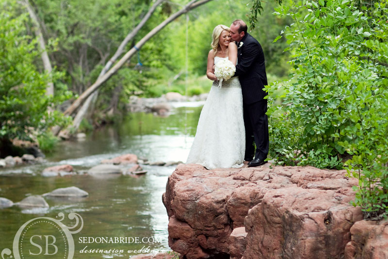 Sedona wedding at L'Auberge