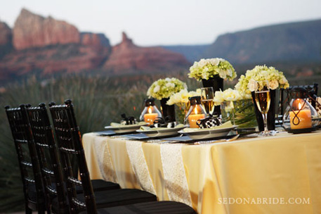 Agave of Sedona Wedding and Event Center with Red Rocks Views