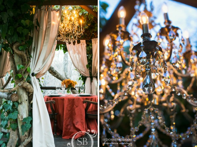 Intimate Weddings at L'Auberge de Sedona by Sedona Bride Photographers Katrina Wallace