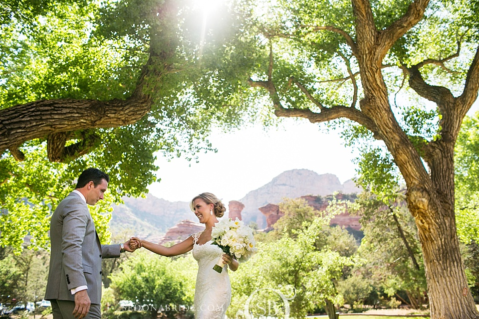 Kendra Scott's beautiful Sedona Wedding