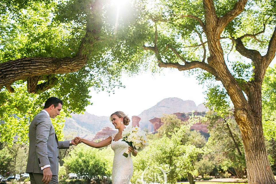 Kendra Scott's beautiful Sedona Wedding