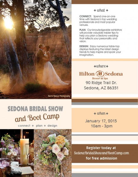 2015 Sedona Bridal Show and Boot Camp